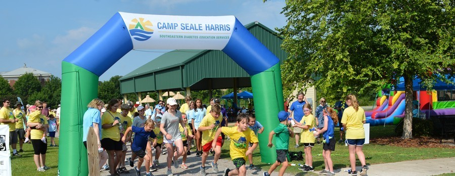 Birmingham Diabetes WALK for Camp Seale Harris
